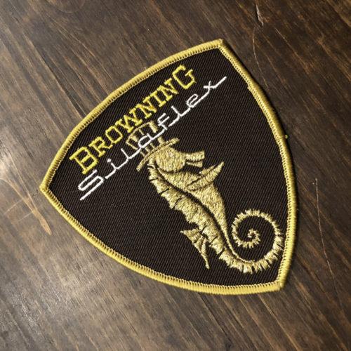 Browning Silaflex ワッペン(ブローニング サイラフレックス ワッペン)