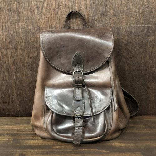 Vintage Heavy Leather Bag(ビンテージ 本革 リュックサック)