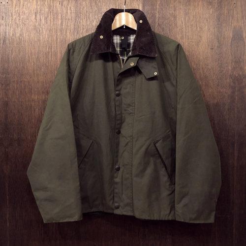 Barbour Transport Jacket sage C40(バブアー トランスポート ジャケット)サイズ表記C40 セージカラー