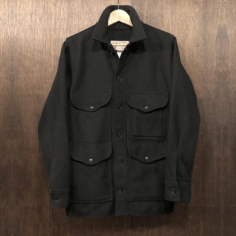 Filson Mackinaw Cruiser 36 Black(フィルソン シングルマッキーノ クルーザー)ウール ハンティングジャケット サイズ36 ブラック