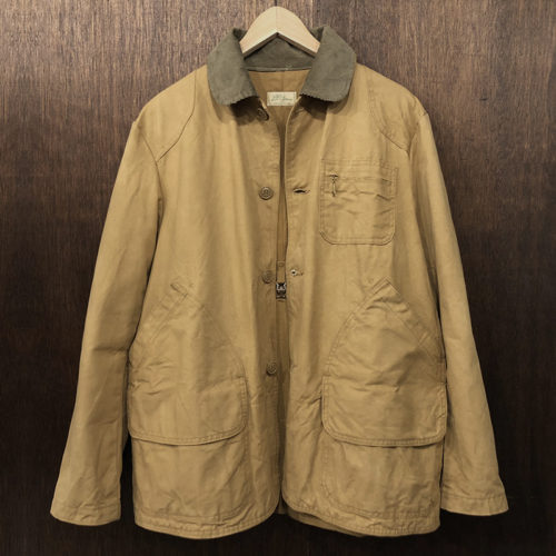 L.L. Bean Field Hunting Jacket 筆記体タグ(エルエルビーン フィールド ハンティング ジャケット)ビンテージ オリジナルモデル