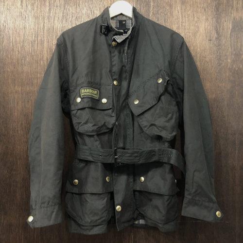 Barbour International Jacket Black C38(バブアー インターナショナル ジャケット)ブラックカラー C38サイズ ブラウンタータンライナー