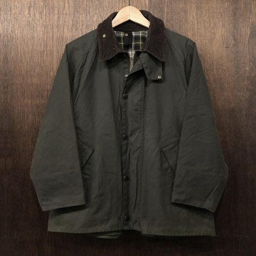 Barbour Transport Jacket sage C40(バブアー トランスポート ジャケット)サイズC40 セージカラー 英国製 Made in England
