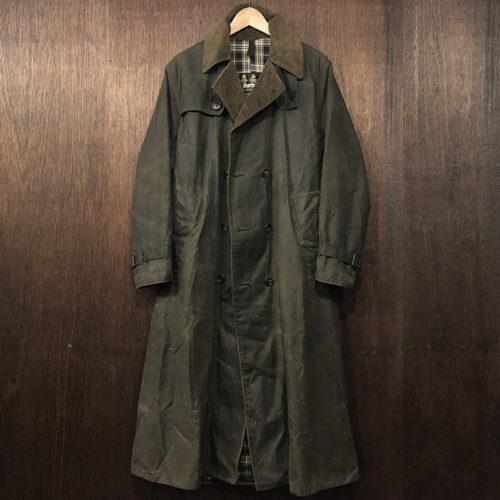 Barbour Trench Coat Sage(バブアー トレンチコート)セージカラー C38 初期 英国製 ビンテージ オリジナル