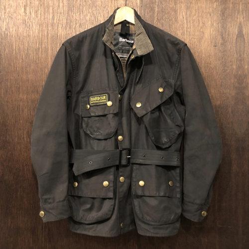 Barbour International Jacket Black C36(バブアー インターナショナル ジャケット)ブラック C36サイズ ブラウンタータンライナー 英国製