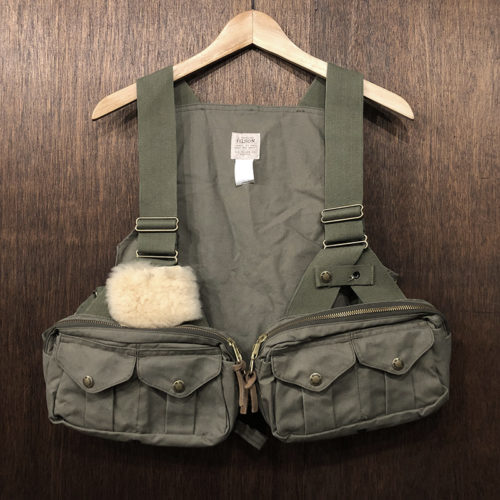 Filson Fly Fishing Strap Vest(フィルソン フライフィッシング ストラップ ベスト)オッターグリーン(オリーブ)カラー オリジナル