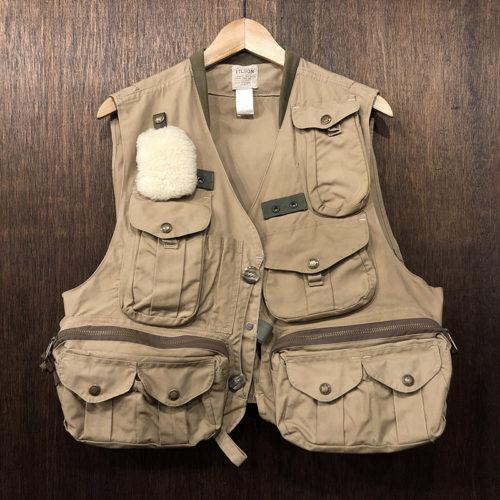 Filson Fly Fishing Guide Vest(フィルソン フライフィッシンングベスト)Mサイズ タンカラー 旧モデル オリジナル