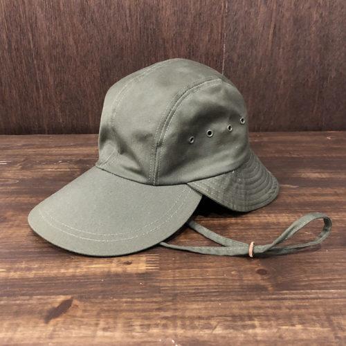 Orvis Bush Fishing Cap Olive Drab(オービス ブッシュ フィッシング キャップ)オリーブドラブカラー SMサイズ オリジナル ビンテージ