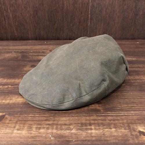 Barbour Waxed Hunting cap(バブアー ワックスド ハンチング キャップ)Sageカラー 7-3/8サイズ オリジナル ビンテージ