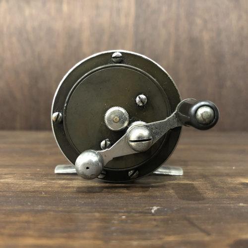 Julius Vomhofe Bass Reel (ジュリアス ボンホフ バス リール)2-1/8インチ径 ハードラバー ニッケルシルバーアンティーク オリジナル