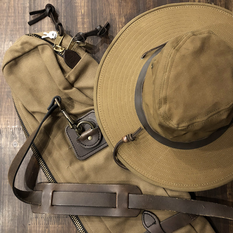 Filson Rod Case & Hat
