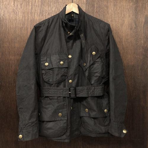 Barbour Beacon Jacket Black C34 バブアー ビーコン ジャケット ブラックカラー サイズ C34 ブラックウォッチタータンライナー 英国製 オリジナル ビンテージ