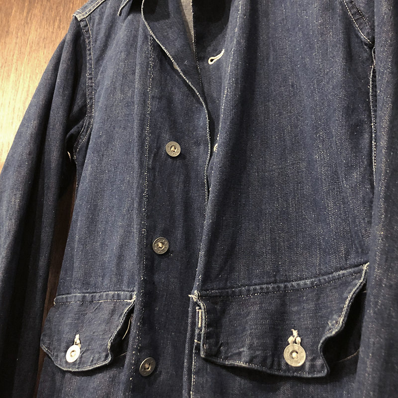 Millitary Denim Coverall