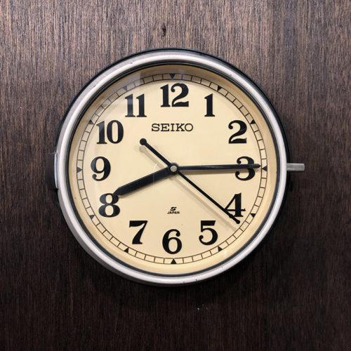 SEIKO セイコー SEIKOSHA 防塵時計 Bus Clock Vintage Model バスクロック 壁掛け時計 旧型 ビンテージクロック