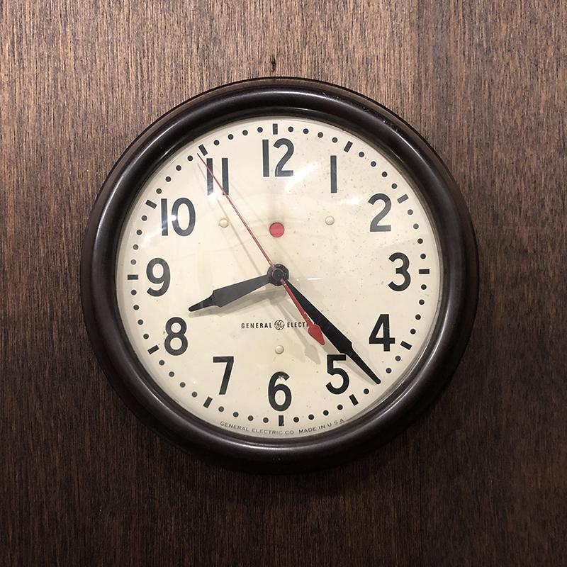 General Electric Vintage Wall clock ゼネラルエレクトリック ビンテージウォールクロック 壁掛け時計 オリジナル