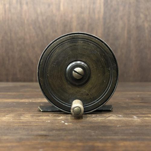 All Brass Antique Fly Reel 2.5inch イングランド製 真鍮製 オールブラス アンティーク フライリール ビンテージ