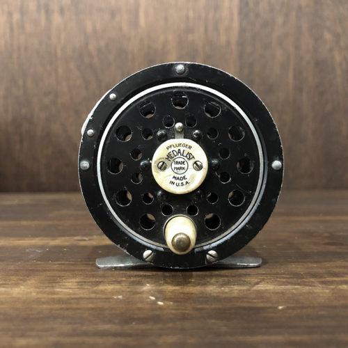 Pflueger Medalist 1492 Fly Reel フルーガー メダリスト1492 スカルプテッドピラーモデル メダリスト最小径モデル ビンテージ フライリール オリジナル