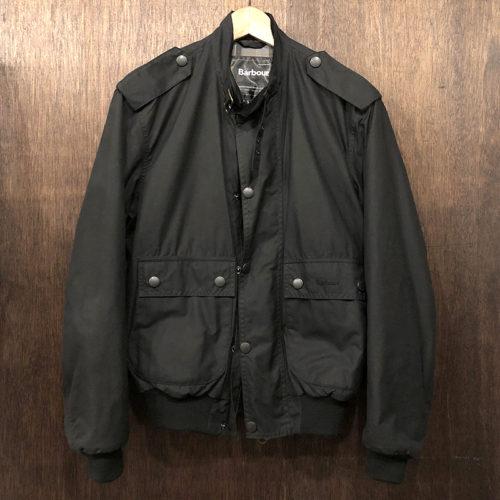 Barbour Wax Flyer Jacket Black Small バブアー ワックス フライヤー ジャケット 3ワラント サイズSMALL ブラック 三井物産国内正規品 英国製 オリジナル Made in England