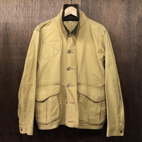 Filson Tin Cloth Hunting Jacket Ocher M フィルソン ティンクロス ハンティング ジャケット オーカーカラー Mサイズ 旧モデル Made in USA オリジナル