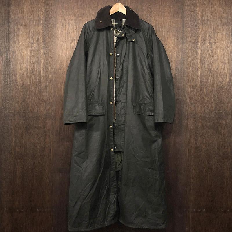 Barbour Burghley Coat 2Warrant Sage C36 バブアー バーレー コート ジャケット 2ワラント セージ 英国製 オリジナル ビンテージ