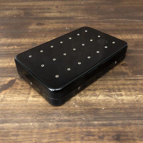 Perrine Dry&Wet Fly Box Black Finish パーリン アルミニウム ドライ&ウェット フライボックス ブラックフィニッシュ ビンテージモデル