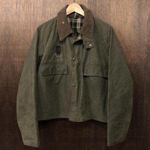 Barbour Spey Jacket 1warrant L バブアー スペイ ジャケット 1ワラント サイズL セージ ビンテージ 最初期 オリジナル 英国製 Made in England