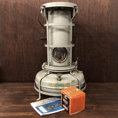 Aladdin Blue Flame Heater Model 15 3300 アラジン ブルーフレーム ヒーター ストーブ 15型 3300 H42201 新品芯交換・メンテナンス済