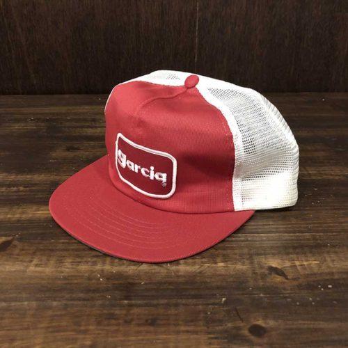 Garcia Sports Fishing Mesh Cap Free Size ガルシアワッペン スポーツ フィッシング メッシュキャップ フリーサイズ ビンテージ