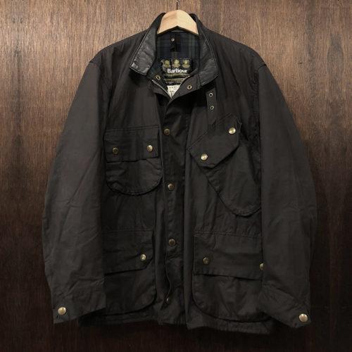 Barbour Beacon Jacket Black C44 バブアー ビーコン ジャケット ブラック サイズ C44 ブラックウォッチ 3ワラント Made in England 英国製 オリジナル