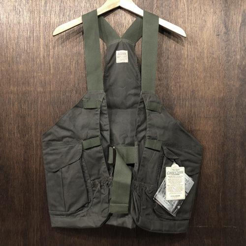 Filson Covercloth Oiled Hunting Strap Vest OT Deadstock フィルソン カバークロス オイルド ハンティング ストラップ ベスト オッターグリーン デッドストック品