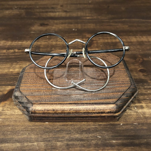 Vintage Glasses French Combination Round Frame Deadstock ビンテージ フレンチ ラウンド コンビネーション 眼鏡フレーム デッドストック品