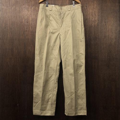 French Army M52 Trousers Chino Pants 44 Mint フレンチ アーミー トラウザーズ チノパンツ オリジナル ミントコンディション サイズ44