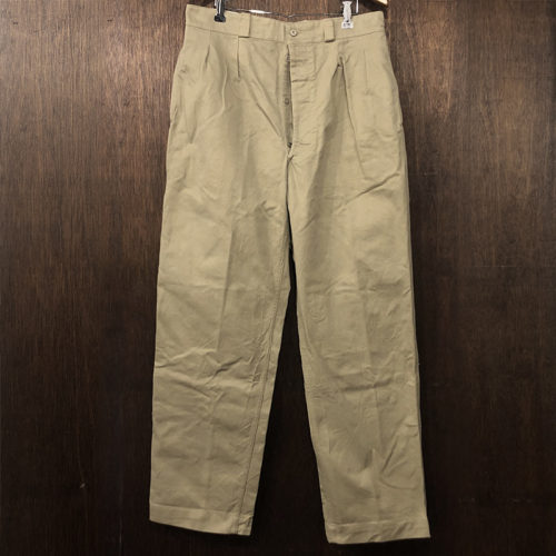 M52 French Army Trousers Chino Pants 44 Mint