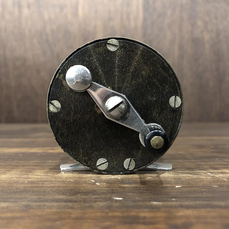 Allcocks Brass Nickel Silver 2-1/2 inch Fly Reel オールコックス ブラス ニッケルシルバー アンティーク フライリール グッドコンディション