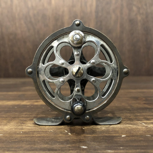 Pflueger Progress 60 Brass & Nickel Fly Reel フルーガー プログレス ブラス & ニッケル アンティーク ビンテージ フライリール