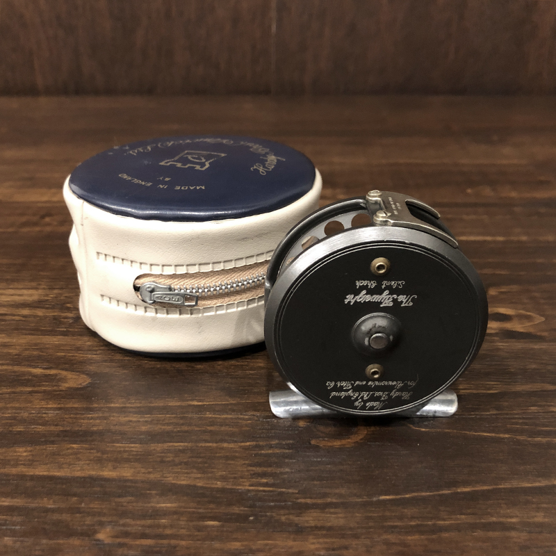 Hardy Bros Flyweight A&F Silent Check Heavy U Fly Reel With Case ハーディ フライウエイト サイレントチェック アバークロンビー & フィッチ フライリール ケース付