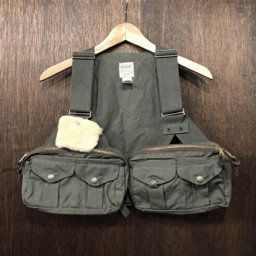 Filson Fly Fishing Strap Vest Reg Deadstock フィルソン フライフィッシング ストラップ ベスト オッターグリーン オリジナル オールド デッドストック