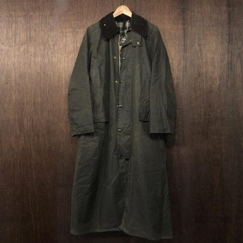 Barbour 2Warrant Burghley Coat Sage C38 バブアー バーレー コート ジャケット 2ワラント セージ 英国製 オリジナル ビンテージ