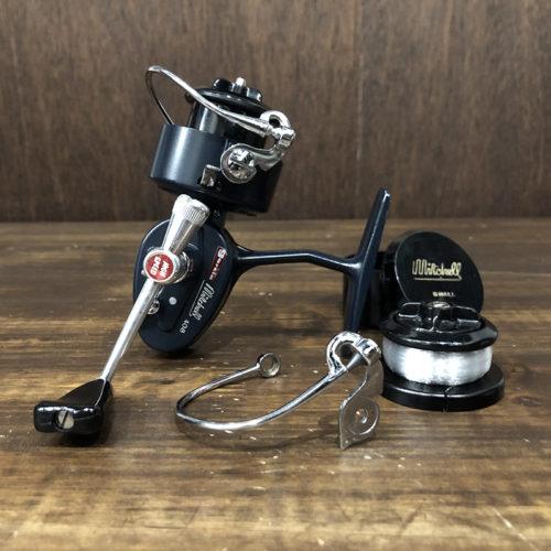 Garcia Mitchell 408 Spinning Reel Mint with Spool & Bailarm ガルシア ミッチェル 408 スピニングリール ビンテージ スペアスプール ローラーベイル付 ミント品