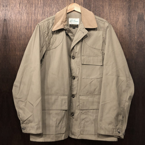 L.L. Bean Hunting Jacket 40 筆記体タグ Deadstock エルエルビーン ハンティング ジャケット サイズ40 ビンテージ オリジナル デッドストック品