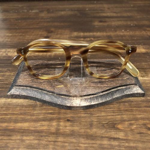 Vintage Glasses French Frame 2Dot Honey Amber Wellington Deadstock ビンテージ フレンチ 眼鏡フレーム ハニーアンバー ウェリントン デッドストック品