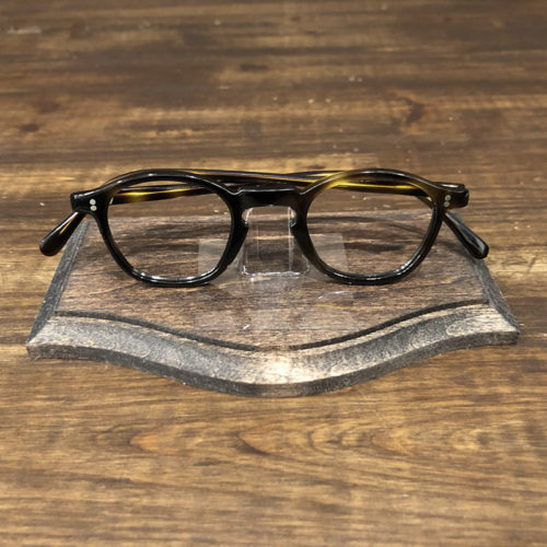 Vintage Glasses French Frame 2Dot Dark Amber Wellington Mint ビンテージ フレンチ 眼鏡フレーム ダークアンバー ウェリントン ミントコンディション