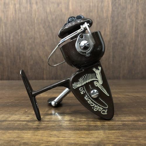 Coptes Pelican 50 Brown Spinnig Reel コプテス ペリカン 50 スピニングリール ビンテージ イタリア製 オリジナル