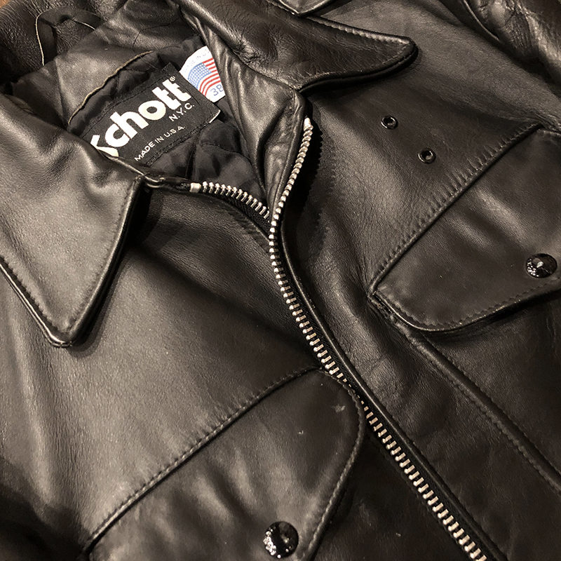 Policeman Leather Jacket