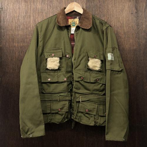 Ideal Vintage Fishing Jacket Khaki Deadstock イディール 社 ビンテージ フィッシング ジャケット カーキカラー デッドストック品