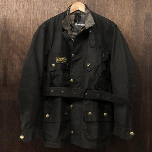 Barbour International Jacket Black C38 DeadStock バブアー インターナショナル ジャケット ブラック サイズC38 英国製 デッドストックコンディション