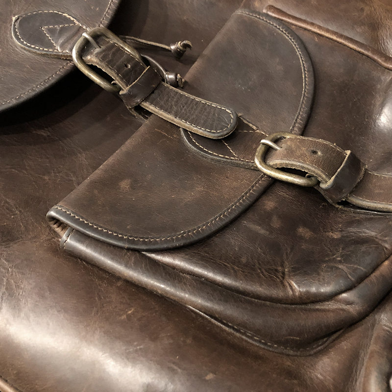 Heavy Fullgrain Leather Bag