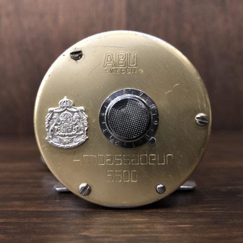 Abu Ambassadeur 5500G Champagne Gold 770200 アブ アンバサダー 5500 77年 シャンパンゴールド ベイトキャスティングリール ビンテージ オリジナル