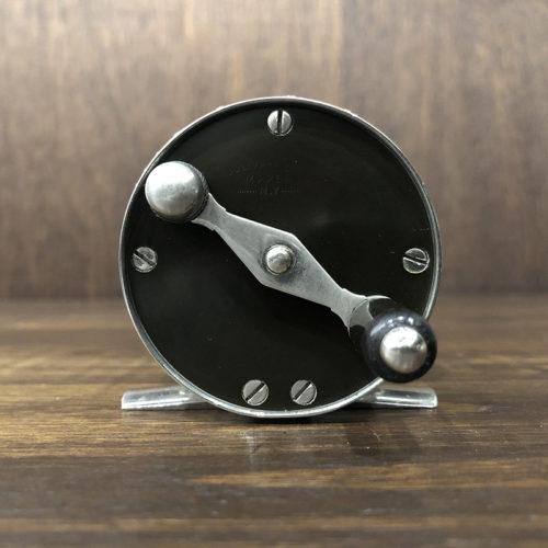 Julius Vomhofe Nickel Silver Hard Rubber Size4 Fly Reel ジュリアス ボンホフ ニッケルシルバー ハードラバー トラウト サーモン フライリール