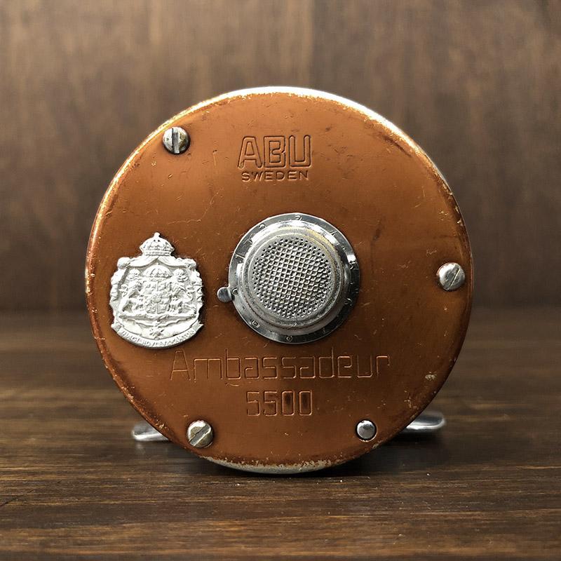 Abu Ambassadeur 5500 Copper Brown Bait Reel 760100 アブ アンバサダー 5500 コパー ブラウン ベイトキャスティングリール オリジナル
